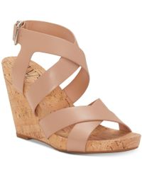 INC International Concepts - Landor Strappy Wedge Sandals, Created For Macy's - Lyst
