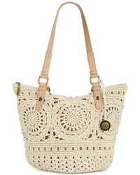 The Sak Silverwood Crochet Tote, Created For Macy's - Multicolour