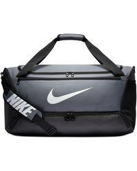 Nike Brasilia Medium Duffel Bag - Gray