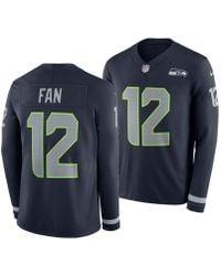 big sale f6a4d b5480 Nike Men's Fan #12 Seattle Seahawks Salute To Service Jersey ...