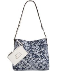 Style & Co. - Clean Cut Paisley Reversible Crossbody With Wristlet - Lyst