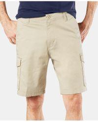"""Dockers 9"""" Cargo Shorts - Natural"""