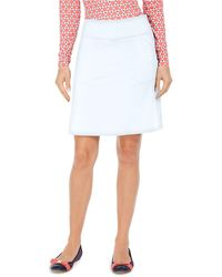 Charter Club Petite Pull-on Skort, Created For Macy's - White
