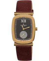Lucky Brand Laurel Berry Leather Watch 27.5mm - Metallic