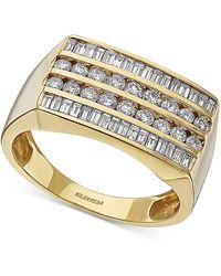 Effy Diamond Ring (1-1/5 Ct. T.w.) In 14k Gold - Metallic
