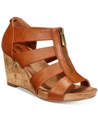 Style & Co. - Fettee Platform Wedge Sandals, Created For Macy's - Lyst