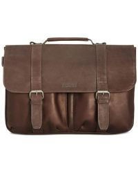 Kenneth Cole Reaction - Men's Colombian Leather Computer Portfolio - Lyst