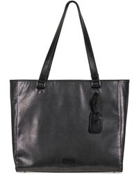 Kenneth Cole Reaction - Tote-ally Silver Faux-leather Tote - Lyst