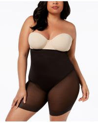 71a648cac7 Lyst - Miraclesuit Firm Control Sheer Trim Thighslimmer 2789 in Natural