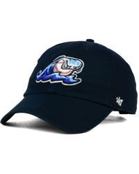 47 Brand - West Michigan Whitecaps Clean Up Cap - Lyst