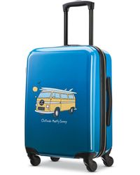 "American Tourister Life Is Good 20"" Hardside Carry-on Spinner - Blue"
