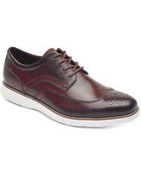 Rockport - Garett Wingtip Shoes - Lyst