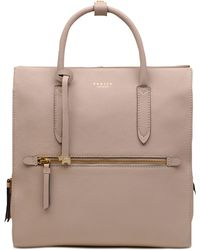 Radley Arlington Court Leather Zip-top Backpack - Multicolor
