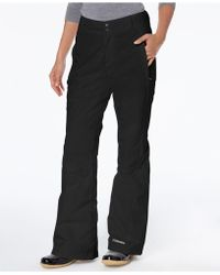 Columbia Modern Mountain Internal-gaiter Snow Pants - Black
