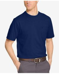 Izod - Men's Double Layer Pocket T-shirt - Lyst