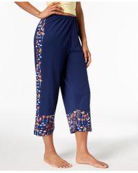 Hue - ® Printed Capri Pajama Pants - Lyst