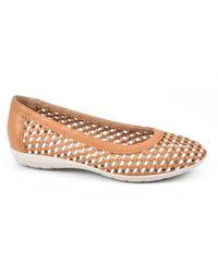 White Mountain Footwear Faylie Flats - Multicolor