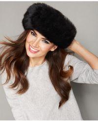 The Fur Vault - Fox Fur Headband - Lyst