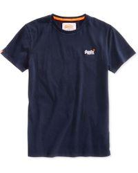 355cc0982 Superdry Men's Surf Store Floral Graphic-print Logo Cotton T-shirt in Blue  for Men - Lyst