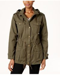 G.H.BASS - Cotton Hooded Utility Jacket - Lyst