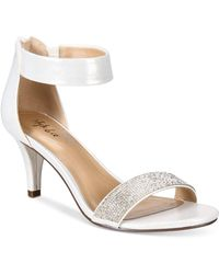 Style & Co. Phillyis Two-piece Evening Sandals - Metallic