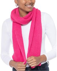 Style & Co. Solid Ribbed Muffler Scarf, Created For Macy's - Pink