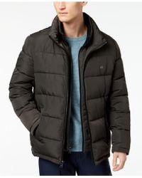Calvin Klein - Full-zip Puffer Coat, Created For Macy's - Lyst