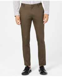 INC International Concepts - Ultra Slim Stretch Pants, Created For Macy's - Lyst