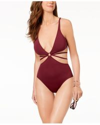 Vince Camuto - Strappy One-piece Swimsuit - Lyst