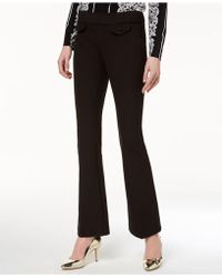 INC International Concepts - Pull-on Straight-leg Pants, Created For Macy's - Lyst