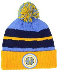 Mitchell & Ness - Quilted Hi Five Knit Hat - Lyst