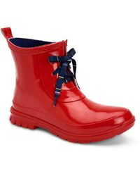 Charter Club Traynor Rain Booties, Created For Macy's - Red