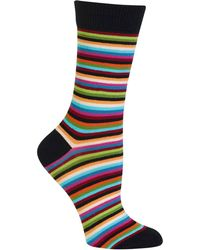 Hot Sox - Stripe Trouser Socks - Lyst