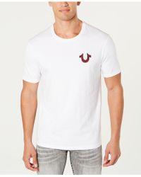 True Religion - Guitar Buddha Crew Neck T-shirt - Lyst