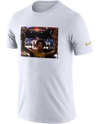 Nike - Lonzo Ball Los Angeles Lakers Rookie Photo Reel T-shirt - Lyst