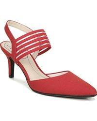 LifeStride Sanya Slingback Pumps - Red