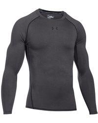 Under Armour Men's Heatgear® Long-sleeve Compression Shirt - Gray