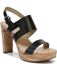 Naturalizer Marla Platform Sandals - Black