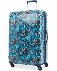 "Atlantic Infinity Lite 3 Lotus Temple 25"" Hardside Spinner Suitcase - Blue"