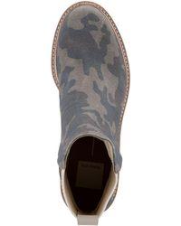 Dolce Vita Huey Lug-sole Chelsea Booties - Grey