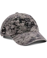 974e85c7db7 47 Brand - Wisconsin Badgers Operation Hat Trick Camo Nilan Cap - Lyst
