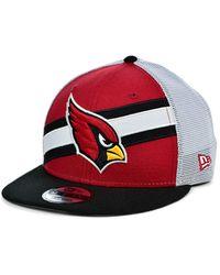 KTZ - Arizona Cardinals Diagonal Trucker 9fifty Cap - Lyst