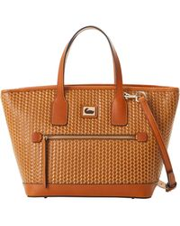 Dooney & Bourke Camden Woven Medium Convertible Tote - Multicolour
