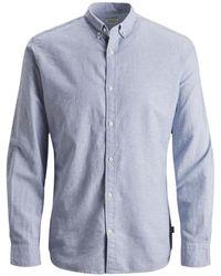 Jack & Jones - Essential Linen Summer Shirt - Lyst