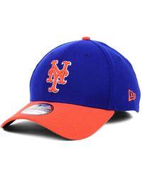 0b0b1bbac06 Lyst - KTZ New York Mets Diamond Era 39Thirty Cap in Blue for Men