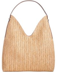 INC International Concepts Inc Bonniee Straw Hobo, Created For Macy's - Multicolor