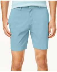 """Tommy Hilfiger - Stretch Tommy 7"""" Shorts, Created For Macy's - Lyst"""