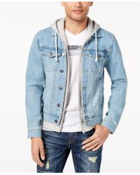 American Rag - Layered-look Trucker Jacket, Created For Macy's - Lyst