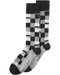 Alfani - Mosaic Boxes Dress Socks, Created For Macy's - Lyst