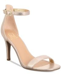 Material Girl - Blaire Two-piece Dress Sandals - Lyst